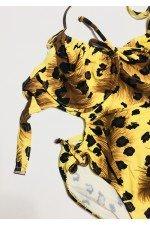 Costum de baie intreg Imprimeu Leopard