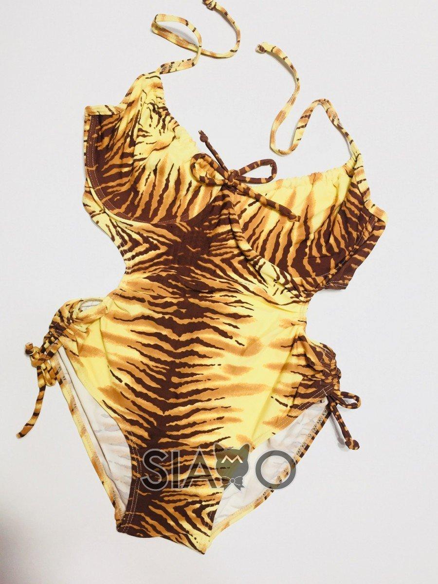 Costum de baie intreg Imprimeu Tigru