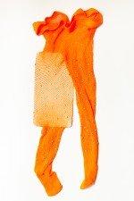 Dres plasa portocaliu cu Strasuri